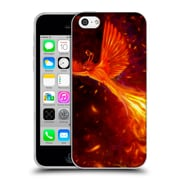 Official Christos Karapanos Phoenix Immortal Flames Soft Gel Case for Apple iPhone 5c