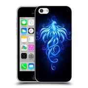 Official Christos Karapanos Phoenix 2 Royal Blue Soft Gel Case for Apple iPhone 5c