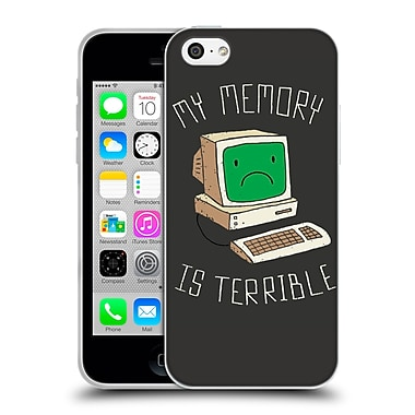 Official Dinomike Fun Illustrations My Memory Is Terrible Soft Gel Case for Apple iPhone 5c