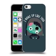 Official Dinomike Fun Illustrations I Woke Up Like This Soft Gel Case for Apple iPhone 5c