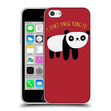 Official Dinomike Fun Illustrations Regular Panda Soft Gel Case for Apple iPhone 5c