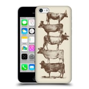 Official Florent Bodart Animals 2 Cow Cow Nuts Big Hard Back Case For Apple Iphone 5C