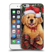 Official Christmas Mix Pets Jenny Newland Puppy Soft Gel Case for Apple iPhone 6 Plus / 6s Plus