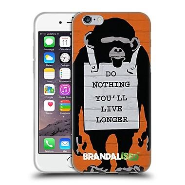 Official Brandalised Banksy Graffiti Monkeysign Soft Gel Case For Apple Iphone 6 / 6S