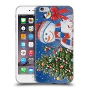 Official Christmas Mix Snowman William Vanderdasson Decorating Tree Soft Gel Case for Apple iPhone 6 Plus / 6s Plus
