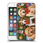Official Christmas Mix Pets William Vanderdasson Which One's Mine? Puppies Soft Gel Case for Apple iPhone 6 Plus / 6s Plus