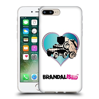 Official Brandalised Banksy Wall Art Tank On Tank Soft Gel Case For Apple Iphone 7 Plus