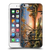 Official Chuck Black Cabin An Autumn Sunset Soft Gel Case for Apple iPhone 6 Plus / 6s Plus