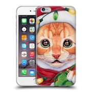 Official Christmas Mix Pets Jenny Newland Uh Oh! Santa! Soft Gel Case for Apple iPhone 6 Plus / 6s Plus