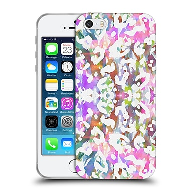 Official Amy Sia Animal Prints Pastel Leopard Soft Gel Case For Apple Iphone 5 / 5S / Se