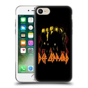 Official Def Leppard Design Group Soft Gel Case for Apple iPhone 7
