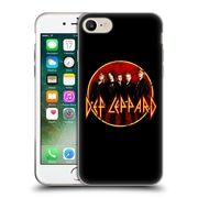 Official Def Leppard Design Photo Soft Gel Case for Apple iPhone 7