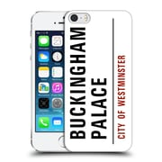 Official City Of Westminster Street Signs Buckingham Palace Hard Back Case For Apple Iphone 5 / 5S / Se