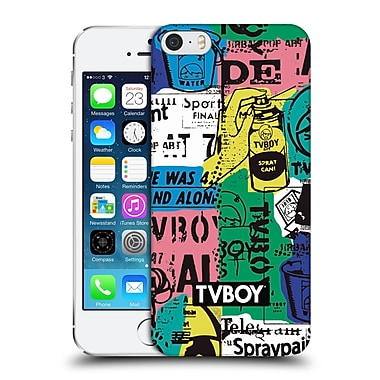 Official Tvboy Stencil All Over Five Hard Back Case For Apple Iphone 5 / 5S / Se