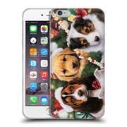 Official Christmas Mix Pets Jenny Newland Puppy Surprise Soft Gel Case for Apple iPhone 6 Plus / 6s Plus