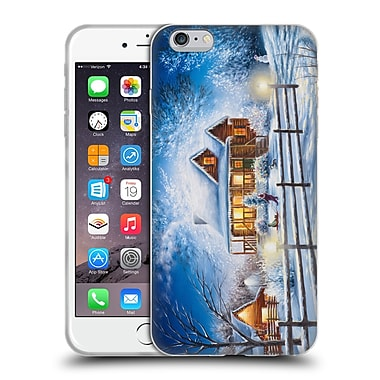 Official Chuck Black Cabin Friday Night Joys Soft Gel Case for Apple iPhone 6 Plus / 6s Plus