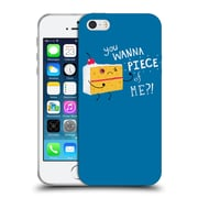 Official Dinomike Fun Illustrations Angry Cake Soft Gel Case for Apple iPhone 5 / 5s / SE