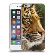 Official Chuck Black Big Cats Into The Jungle Soft Gel Case for Apple iPhone 6 Plus / 6s Plus