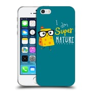Official Dinomike Fun Illustrations Super Mature Soft Gel Case for Apple iPhone 5 / 5s / SE