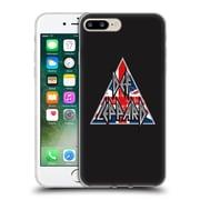 Official Def Leppard Design Target Union Jack Soft Gel Case for Apple iPhone 7 Plus