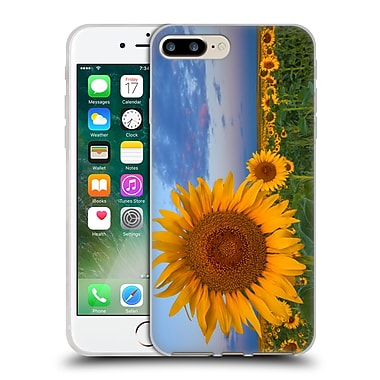 Official DARREN WHITE WILD FLOWER Plants and Blooms Sunny Side Up Soft Gel Case for Apple iPhone 7 Plus