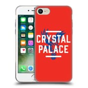 Official Crystal Palace FC The Eagles Red Palace Soft Gel Case for Apple iPhone 7