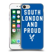 Official Crystal Palace FC The Eagles Royal Blue SLAP Soft Gel Case for Apple iPhone 7