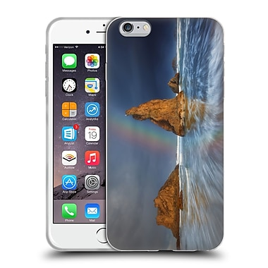 Official DARREN WHITE BEACHES AND OCEANS Lighthouse Moon Soft Gel Case for Apple iPhone 6 Plus / 6s Plus