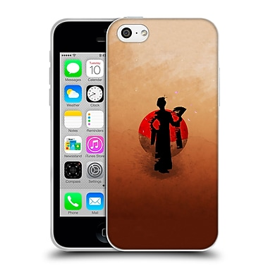 Official Aron Art Japanese Silhouette The Geisha Reboot Soft Gel Case For Apple Iphone 5C