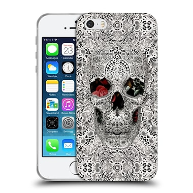 Official Ali Gulec The Message Lace Skull Light Soft Gel Case For Apple Iphone 5 / 5S / Se