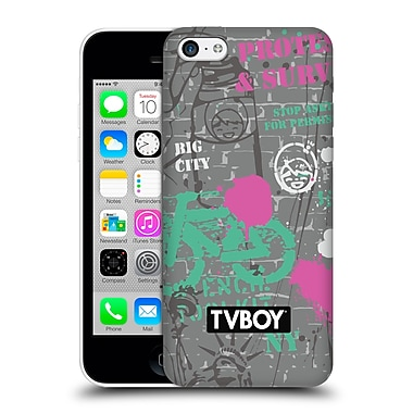 Official Tvboy Stencil All Over Two Hard Back Case For Apple Iphone 5C