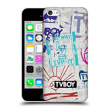 Official Tvboy Stencil All Over Three Hard Back Case For Apple Iphone 5C