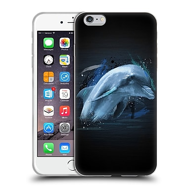 Official Aron Art Animals Dolphin Soft Gel Case For Apple Iphone 6 Plus / 6S Plus