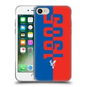 Official Crystal Palace FC The Eagles 1905 Soft Gel Case for Apple iPhone 7