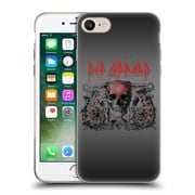 Official Def Leppard Design Skull Target Soft Gel Case for Apple iPhone 7