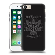 Official Def Leppard Design Sheffield 1977 Soft Gel Case for Apple iPhone 7