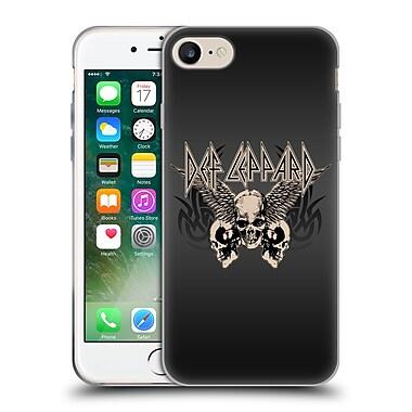 Official Def Leppard Design Skull 1 Soft Gel Case for Apple iPhone 7