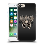 Official Def Leppard Design Skull 1 Soft Gel Case for Apple iPhone 7