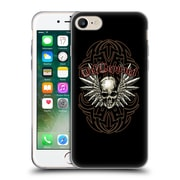 Official Def Leppard Design Skull 2 Soft Gel Case for Apple iPhone 7