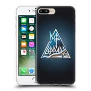 Official Def Leppard Logo Triangle Soft Gel Case for Apple iPhone 7 Plus