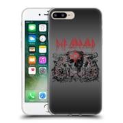 Official Def Leppard Design Skull Target Soft Gel Case for Apple iPhone 7 Plus