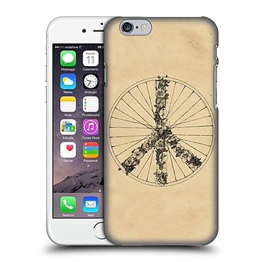 Official Florent Bodart Bikes Peace Lines Hard Back Case For Apple Iphone 6 / 6S