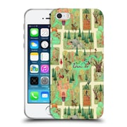 Official Anne Lambelet Patterns Enchanted Forest Pillow Soft Gel Case For Apple Iphone 5 / 5S / Se