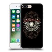 Official Def Leppard Design Skull 2 Soft Gel Case for Apple iPhone 7 Plus