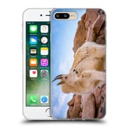 Official DARREN WHITE WILDLIFE Billy Goat Scruff Soft Gel Case for Apple iPhone 7 Plus