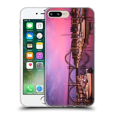 Official Darren White Sunrises and Sunsets Yaquina Bay Soft Gel Case for Apple iPhone 7 Plus