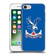 Official Crystal Palace FC The Eagles Royal Blue Soft Gel Case for Apple iPhone 7