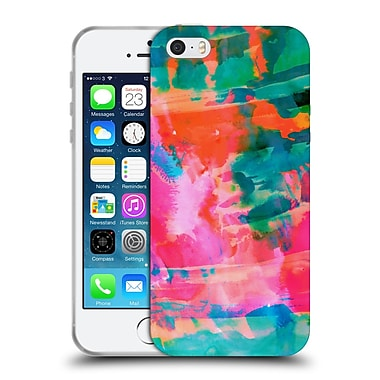 Official Amy Sia Abstract Colours Paradise Soft Gel Case For Apple Iphone 5 / 5S / Se