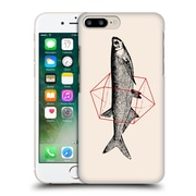 Official Florent Bodart Animals 2 Fish In Geometrics 2 Hard Back Case For Apple Iphone 7 Plus