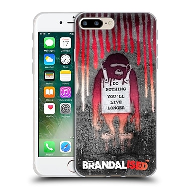 Official Brandalised Banksy Drips Monkeysign Soft Gel Case For Apple Iphone 7 Plus
